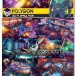 دانلود پک مدل های سه بعدی فضایی POLYGON Sci-Fi Space Pack V1.05