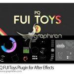 دانلود PQ FUI Toys 2.0.1 اسکریپت افترافکت کامپوزیت های آماده