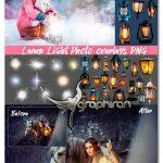 دانلود تصاویر پوششی فانوس و نور چراغ Photo Overlays Lamp Light Lantern
