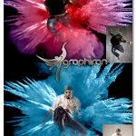 دانلود اکشن فتوشاپ انفجار رنگ ها Sky Explosion Photoshop Action