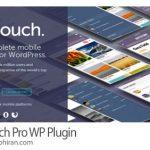 دانلود رایگان WPTouch Pro v4.3.34 افزونه ساخت نسخه موبایل وردپرس