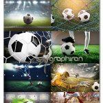 دانلود مجموعه تصاویر استوک ورزش فوتبال Football UHQ Photos