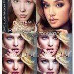 دانلود 340 پریست لایت روم روتوش چهره پرتره Portrait Adobe Lightroom Presets