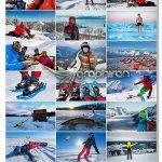 دانلود عکس های استوک ورزش های زمستانی Winter Sports HQ Photos