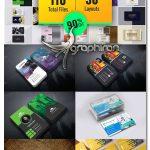 دانلود 30 طرح کارت ویزیت لایه باز چند منظوره Multipurpose Business Card Bundle