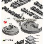 اکشن فتوشاپ ساخت طرح های اسکچ 3 بعدی 3D Lying Sketch