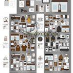 مجموعه طرح های وکتور ست اداری کافه و کافی شاپ Coffee Shop Corporate Identity Set
