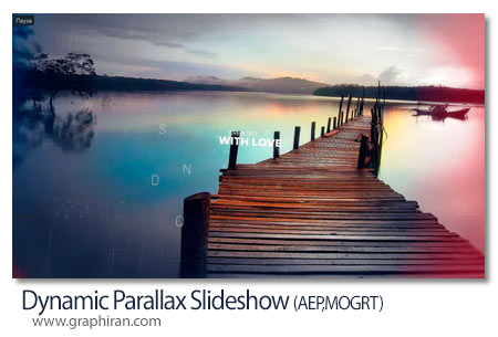 دانلود پروژه پریمیر و افترافکت اسلایدشو پارالاکس