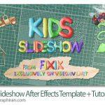 دانلود رایگان پروژه افترافکت اسلایدشو کودکانه و مدرسه Kids Slideshow