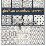 دانلود مجموعه وکتور پترن های سنتی مذهبی Set of traditional Arabian patterns