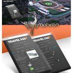 دانلود Travel Map اسکریپت افترافکت ساخت نقشه و مسیر حرکت + فیلم آموزش