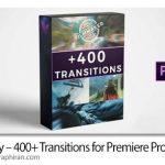 دانلود پک ترانزیشن های متنوع پریمیر Vamify 400+ Transitions for Premiere Pro