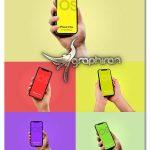 دانلود 5 طرح موک آپ آیفون 11 پرو در دست iPhone 11 Pro Mockup