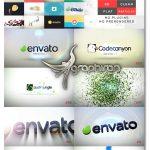 دانلود رایگان پروژه افترافکت 100 نمایش لوگو و آرم Quick Logo Reveal Pack V5