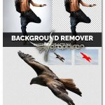 اکشن فتوشاپ حذف پس زمینه تصاویر Background Remover Photoshop Action