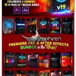دانلود پکیج عظیم CINEPUNCH - Transitions I Color LUTs I Pro Sound FX I 9999+ VFX Elements Bundle V19