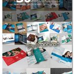 دانلود 30 طرح بروشور تجاری تبلیغاتی لایه باز Creative Brochures Bundle