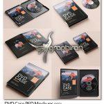دانلود 6 موک آپ دی وی دی و بسته نرم افزاری DVD Case PSD Mockups