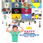 دانلود رایگان پروژه افترافکت پکیج المان های روز پدر Father's Day Package