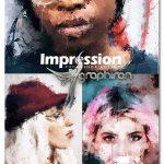 دانلود اکشن فتوشاپ افکت امپرسیونیسم Impression Photoshop Action