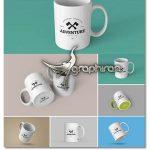 دانلود مجموعه 6 موکاپ ماگ و لیوان Mog Mockup PSD