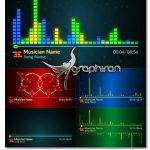 دانلود رایگان پروژه آماده افترافکت 4 نوع ویژوالازر آهنگ Music Visualizer