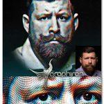 اکشن فتوشاپ طراحی زیبای چهره هنری PRO Portrait Art Photoshop Action