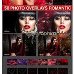 دانلود تصاویر پوششی افکت بوکه عاشقانه ولنتاین Photoshop Overlays Valentines Bokeh