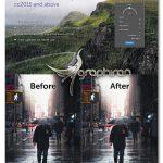 دانلود پلاگین فتوشاپ ساخت باران واقعی روی عکس RainFX Photoshop Extension