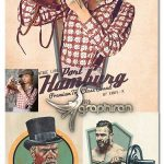اکشن فتوشاپ ساخت پوستر قدیمی کلاسیک RetroPoster Photoshop Action