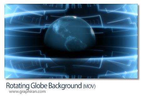 دانلود فوتیج بک گراند موشن گرافیک نقشه جهان
