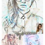اکشن فتوشاپ ساخت افکت نقاشی جذاب Watercolor Photoshop Action