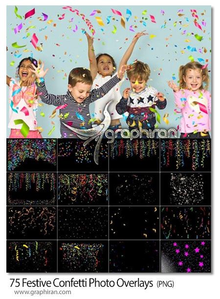 دانلود 75 تصویر پوششی کاغذ رنگی و روبان جشن