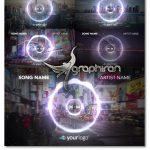 پروژه افترافکت ویژوالایزر موزیک با بک گراند Music Visualizer 02 After Effects Template