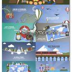 دانلود کیت موشن گرافیک افترافکت سفر و تعطیلات Travel & Holiday Promotion Kit