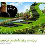 دانلود 5 آهنگ بی کلام آرام تیزر تبلیغاتی و کلیپ تجاری Audiojungle Calm Corporate