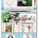 دانلود رایگان پروژه آماده ادیوس جشن تولد کودک و آلبوم عکس Childhood EDIUS Template