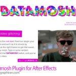 دانلود Datamosh v1.1.4 اسکریپت افترافکت پیکسلی کردن فیلم