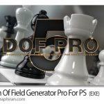Depth Of Field Generator Pro v4.0.28 پلاگین فتوشاپ ساخت عمق میدان