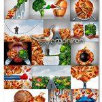 دانلود مجموعه عکس استوک رژیم غذایی و لاغری Fotolia Diet Noose UHQ Photos