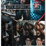 دانلود پریست های لایت روم حرفه ای عکس پرتره Dope Portrait Lightroom Presets