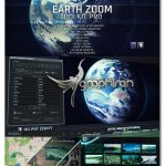 دانلود کیت قدرتمند افترافکت زوم روی کره زمین Earth Zoom Toolkit Pro