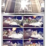 پروژه افترافکت ووله تلویزیونی ماه رمضان Ramadan Theme TV Package Opening