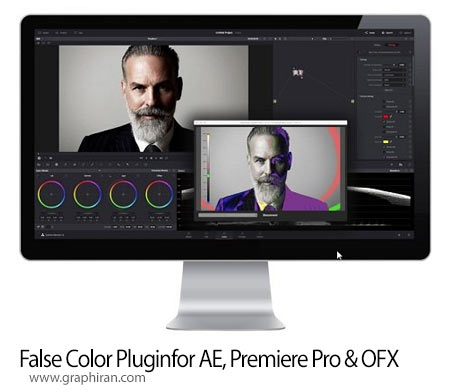 False Color Plugin 3.5.4 پلاگین تصحیح رنگ After Effects, Premiere Pro و OFX ی