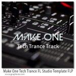 دانلود پروژه آماده اف ال استودیو تکنو ترنس Make One Tech Trance FL Studio Template