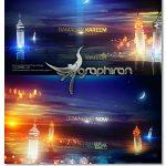 دانلود پروژه آماده افترافکت ماه رمضان و دریاچه Ramadan Kareem Lake View Title