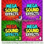 دانلود پک کامل افکت های صوتی Soundsational Mega Sound Effects Vol 1-2-3-4