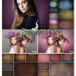 دانلود مجموعه تصاویر پس زمینه عکس آتلیه و استودیو Studio Portrait Photo Textures