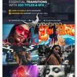 دانلود مجموعه 1800+ ترانزیشن تایتل و افکت صوتی افترافکت VideoHive Transitions V2