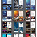 دانلود مجموعه طرح وکتور ست اداری کامل ShutterStock Corporate Templates